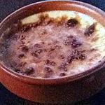 recette Creme brûlée au carambar