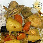 recette Colombo de poulet antillais