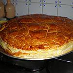 recette Galette des rois à la  Frangipane  maison