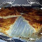 recette Galette des rois aux pommes et caramel