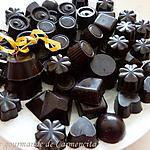 recette Chocolats fourrés à la ganache aux noisettes