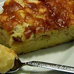 recette Gâteau fondant aux pommes et fromage blanc