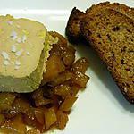 recette Foie gras de canard sur chutney mangue ananas