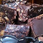Friandises aux biscuits secs et au chocolat