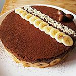 Entremet Chocolat Noisette Banane