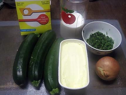 Recette de courgettes en sauce blanche basilic - Feuille de courgette blanche ...