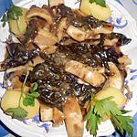 recette Blanc de seiches a l oseille