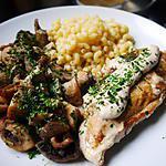recette escalope de poulet sauce boursin