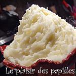 recette ~Purée de pommes de terre rouge à l'ail et au parmesan~