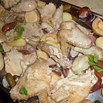 recette Poule au pot aux legumes anciens