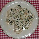 recette Salade de calamars à la plancha