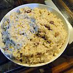 recette Riz au lait avec un reste de riz cuit