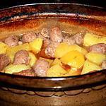 recette Pomme de terre au vin blanc