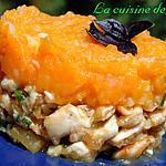 recette Fricassée de poulet et sa purée de carottes à l'orange
