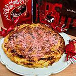 recette Galette des rois framboise et pralines roses