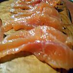 recette Truite marinée façon gravlax