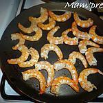 recette Crevettes géantes à la poêle