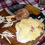 recette Souris d'agneau rôties à l'ail