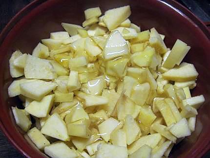 recette de compote de pommes et coing au miel. Black Bedroom Furniture Sets. Home Design Ideas