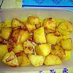 recette Pommes de terre au curry