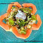recette Salade composée avec du fenouil