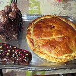 plateau dessert       buche   idée de véronique et  une idée du blog mercedessert  buche façon ferrero