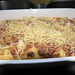 recette purée de p- de terre gratiné à la crème de lard