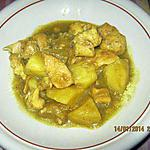 Poulet  curry light