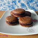 recette Macarons chocolat crème de marrons