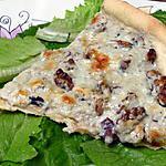 recette Tarte aux fromages et aux noix
