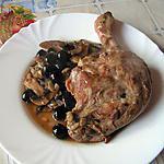 recette Cuisse de canard sautées aux olives