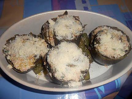 Carciofi ripieni (artichauts farcis) 430