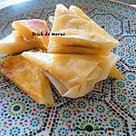 recette Brick mangue-morue