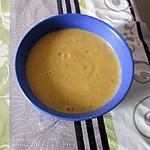 recette velouté potiron miel  ;;la cuillere aux milles délices  et;;