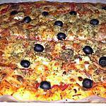 recette ~ Pâte à pizza express ~