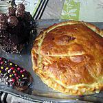 recette galette poire chocolat  de roseline 26