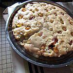 recette gateau mirabelles  et pommes