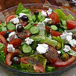 recette Salade feta