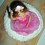 Gâteau d'anniversaire Barbie danseuse etoile
