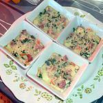 recette Gratinés de surimi