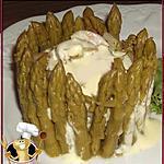recette Gâteau de purée citronné aux asperges vertes