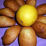 recette Madeleines légères au citron