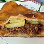 recette Tourte pomme de terre/viande hachée