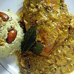 recette Poulet style Mughlai