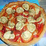 recette TORTA  PEPERONI  E  CHEVRE (poivrons et chèvre)