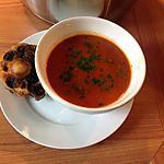 recette Soupe à la tomate et queue de boeuf