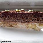 recette Gâteau mousseux au chocolat & fondant de bananes