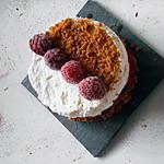 recette tiramisu framboises spéculoos façon entremet