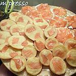 recette Crêpes apéritives à la truite saumonée