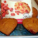 recette Muffins aux éclats de pralines roses